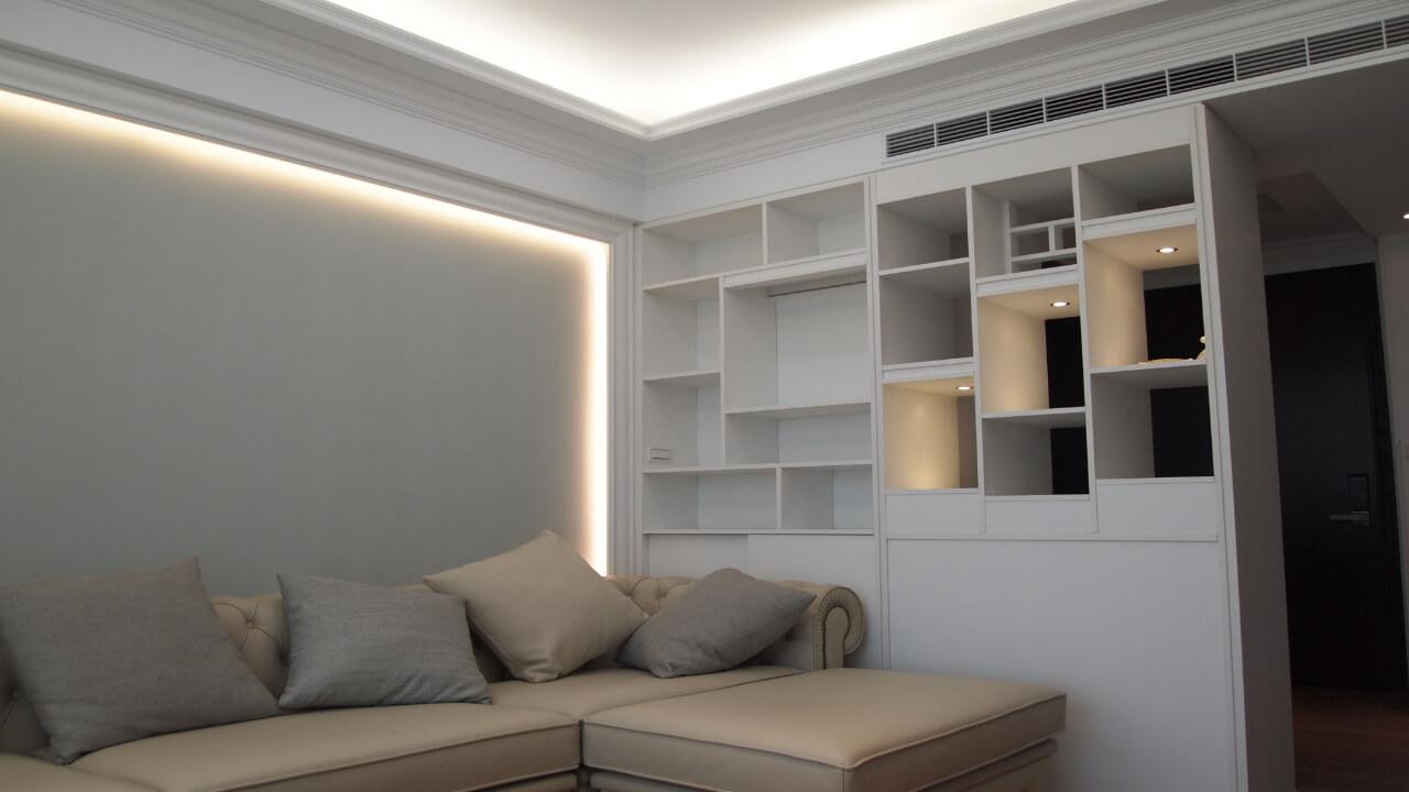 室內設計作品-客廳櫃體
