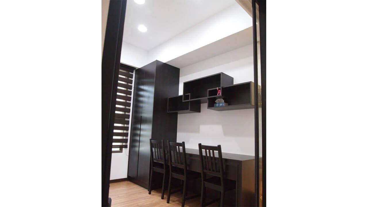 室內設計作品-書房書櫃