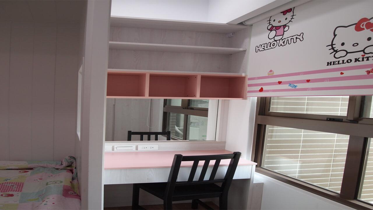室內設計作品-書桌