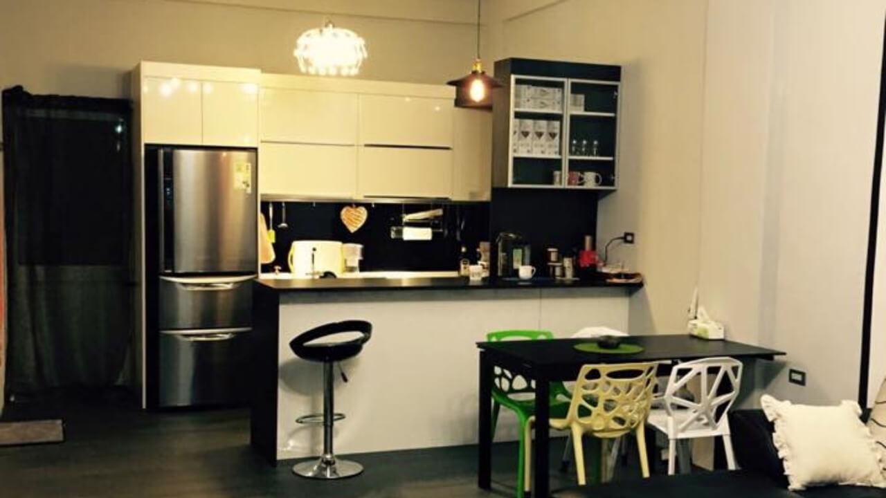 系統櫃作品-東部-張小姐-廚房與餐廳