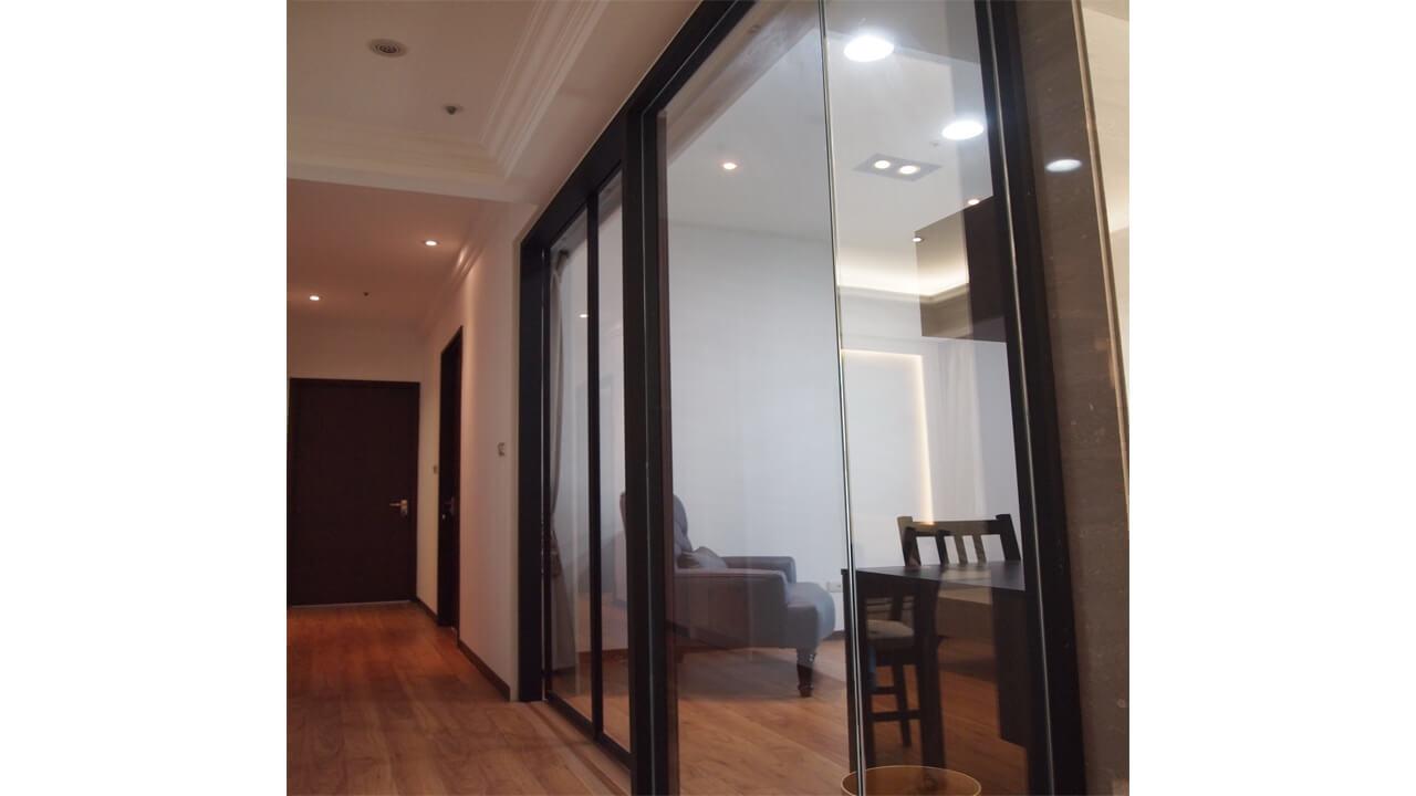 室內設計作品-走道與玻璃隔間