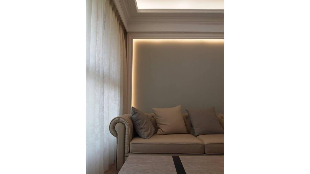 室內設計作品-沙發背牆