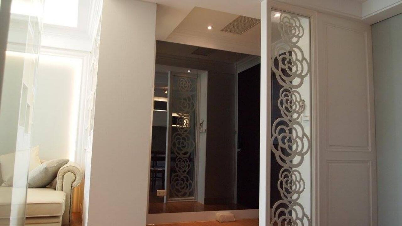 室內設計作品-客廳玄關處
