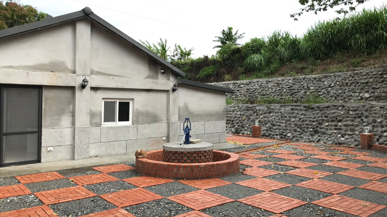 建築設計作品-東部-老屋建築-水井