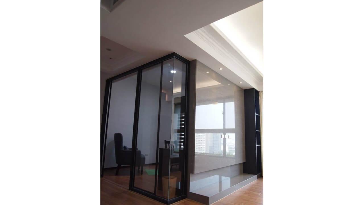 室內設計作品-玻璃隔間