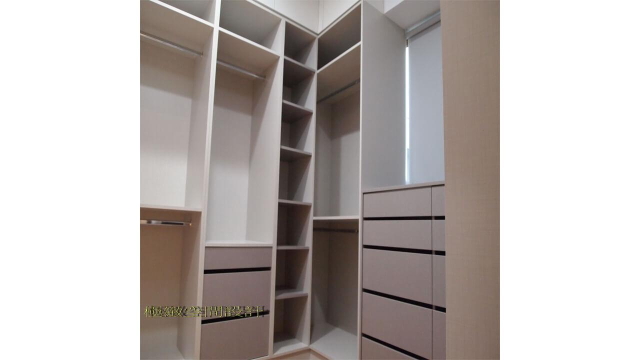 室內設計作品-衣櫃系統櫃