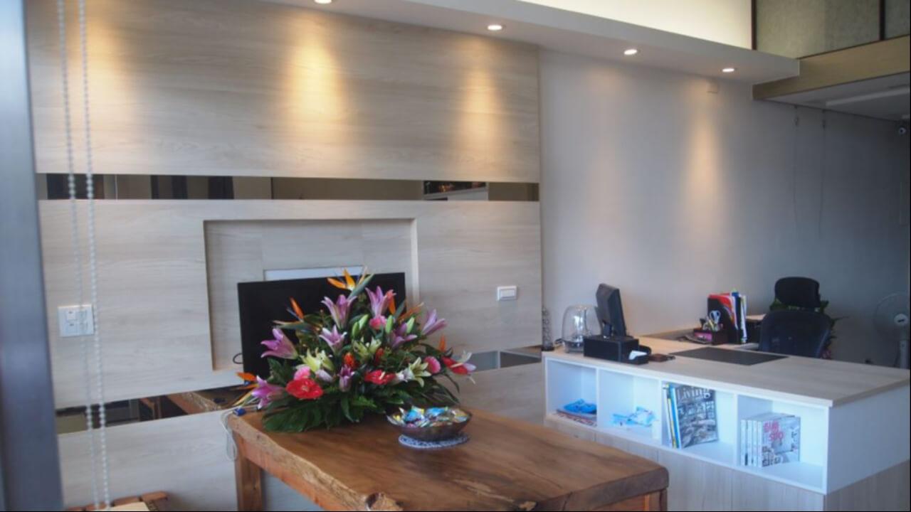 建築設計作品-舊屋翻新-客廳電視牆