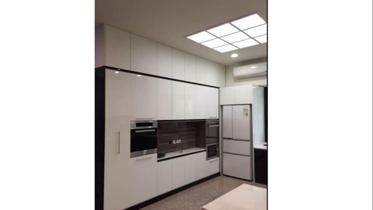 系統櫃作品-新竹-賴小姐-餐廳櫃